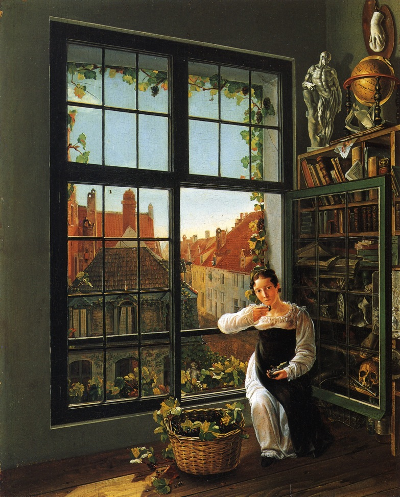 Private collection, oil on panel, 1816