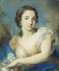 Royal Collection Trust (UK) - Buckingham Palace  (United Kingdom - London), circa 1726-1744,  drawing - pastel