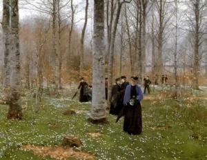 A Spring Day - Hans Andersen Brendekilde