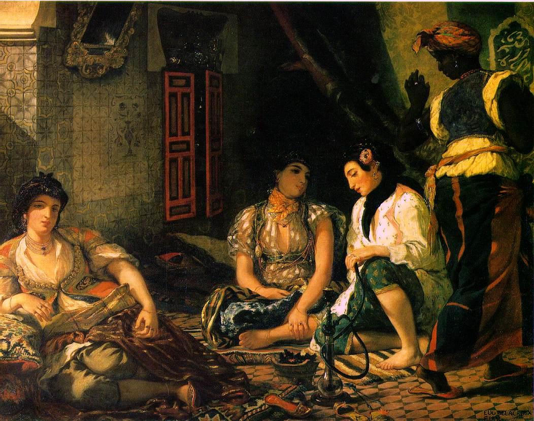 Oil on canvas, 1834, Musee du Louvre, Paris