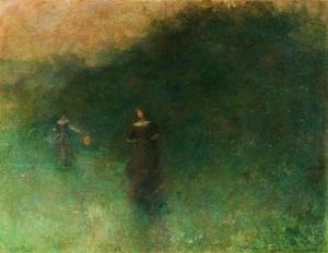 Freer Gallery of Art - Washington DC  (United States - Washington, DC), 1894-1895, oil on canvas