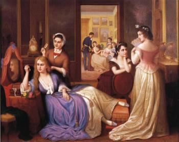 Reynolda House, Museum of Art, United States Circa 1860, Painting - oil on panel