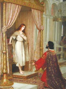 The King and the Beggar-maid - Edmund Blair Leighton