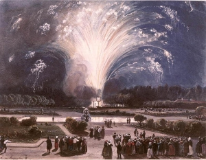 Musée Condé - Chantilly (France – Chantilly(, watercolor