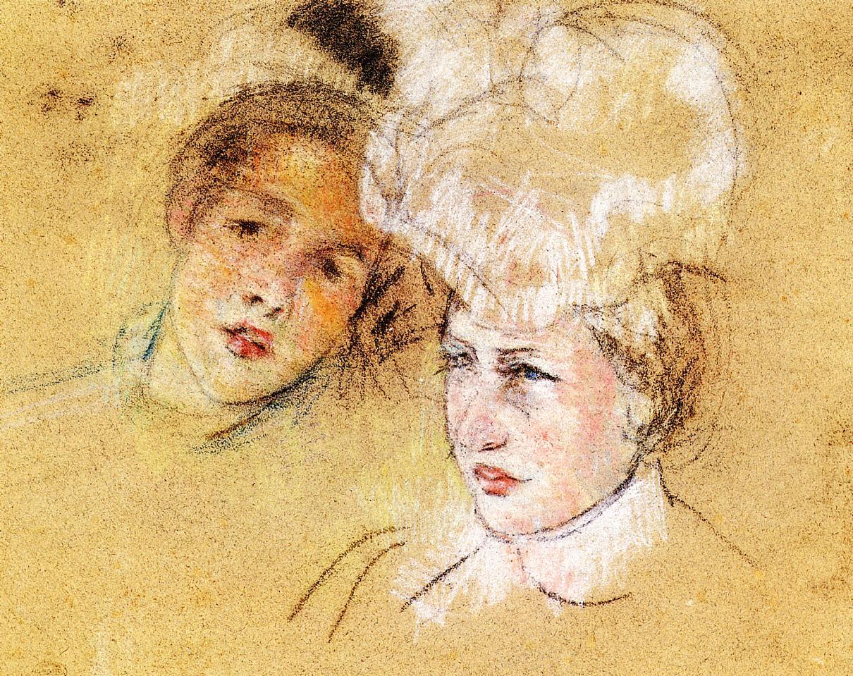 Drawing - pastel   circa 1898