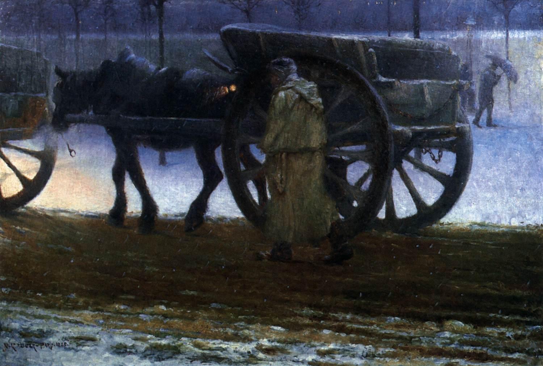 Oil on canvas, 1885, Prins Eugens Waldemarsudde, Stockholm