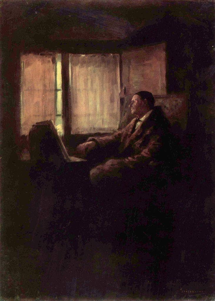 Painting Lover - Nicolae Grigorescu