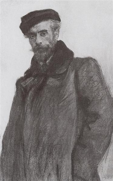 Original Title: Портрет И.И.Левитана, 1900