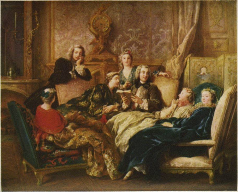Collection Marchioness of Cholmondeley, 1728, oil on canvas