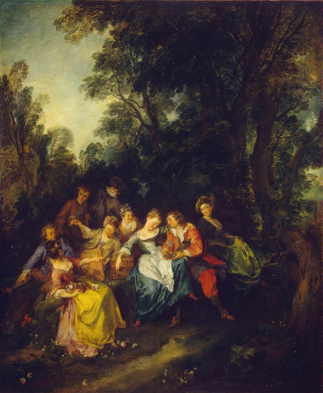 Oil on canvas, 1720, The Hermitage, St. Petersburg