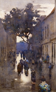 Private collection, 1885, watercolor