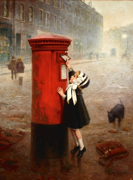 The Pillar Box - A Letter To Daddy - Fernand LeQuesne