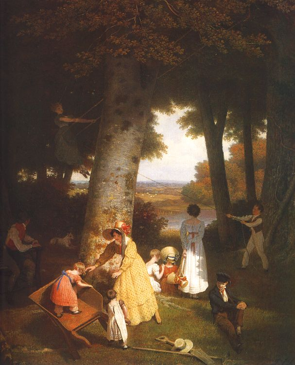 1830 oil on canvas, Oskar Reinhart Collection, Winterthur