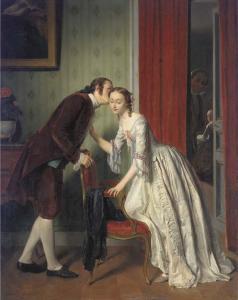 The Secret Whisper - Gustave-Leonard de Jonghe