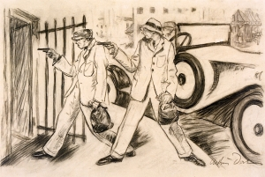 Heckscher Museum of Art  (United States - Huntington, New York) , 1929, charcoal on paper