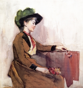 Private collection, 1891, watercolor on paper