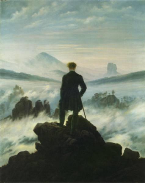 Oil on canvas, 1818,  Kunsthalle, Hamburg
