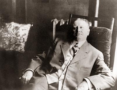 William Sydney Porter - Sitting on an armchair