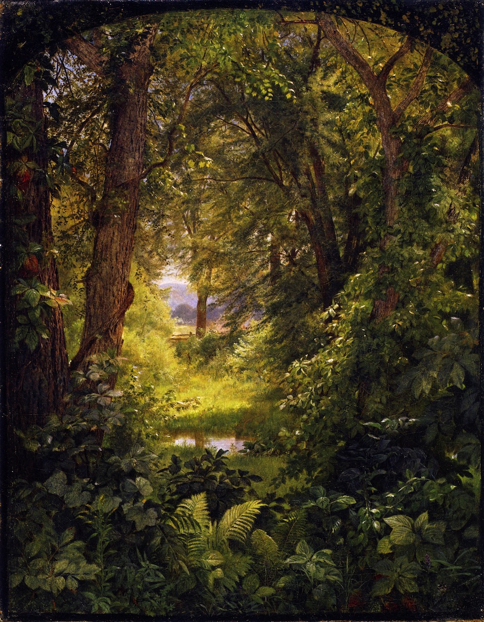 also known as Woodland Glade, 1860, oil on canvas, Private collection